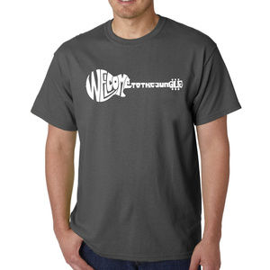 Men's Word Art T-shirt - Welcome to the Jungle